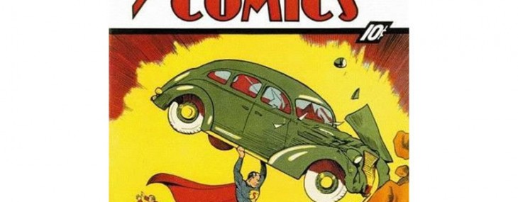 First Superman comic book issued in 1938 up for auction on Ebay for $1.75 million