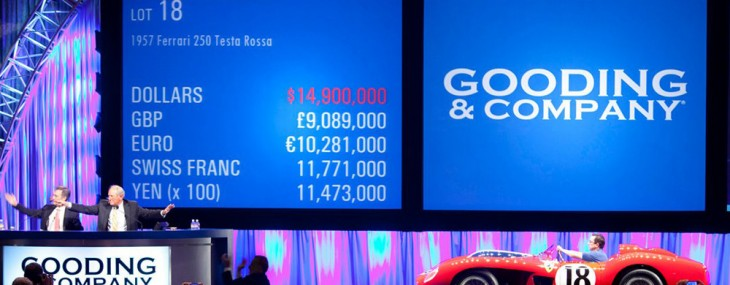 Gooding & Company Realizes Over $106M & Sets 16 New Records at Pebble Beach Concours d'Elegance Auction