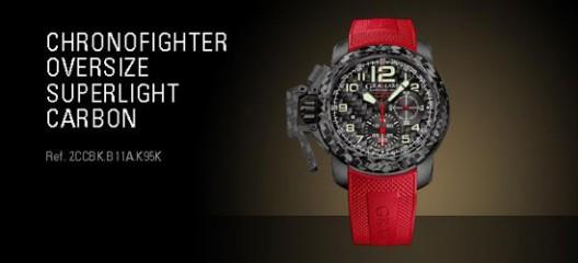 lightest time machine - Graham Chronofighter Oversize Superlight Carbon