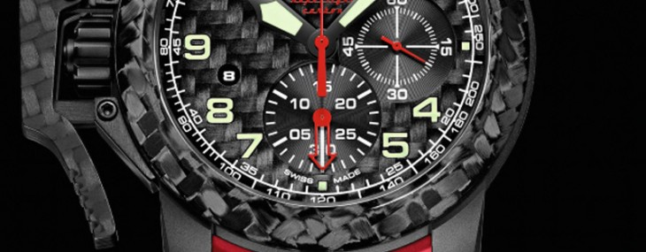 lightest time machine - Graham Chronofighter Oversize Superlight Carbon