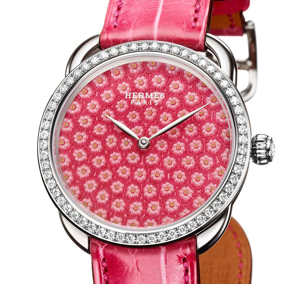 Beautiful Arceau Millefiori Timepiece Collection by Hermès