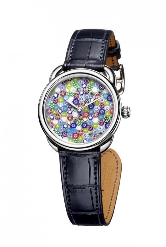 Beautiful Arceau Millefiori Timepiece Collection by Hermès