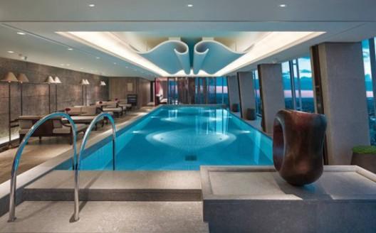 West Europe's Highest Swimming Pool at London's Shangri-La Hotel