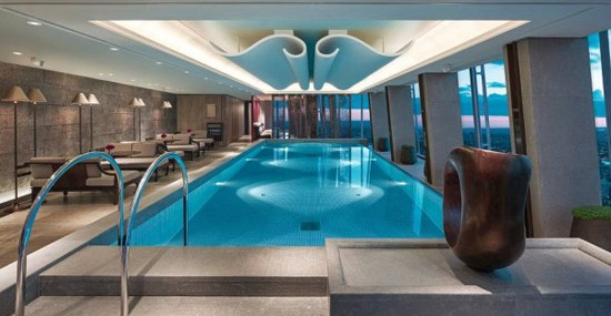 West Europe's Highest Swimming Pool at London's Shangri-La Hotel