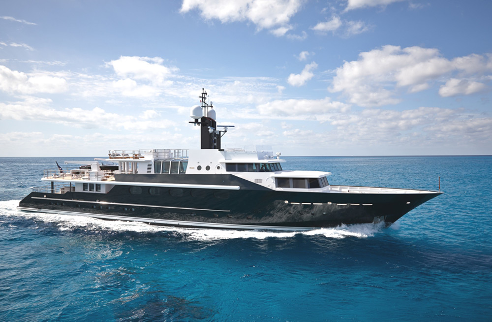 Highlander - Malcolm Forbes' Iconic Yacht  Available for Charter for the First Time