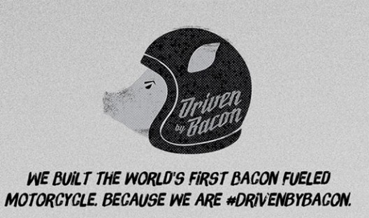 Hormel Motorcycle Driven By Bacon