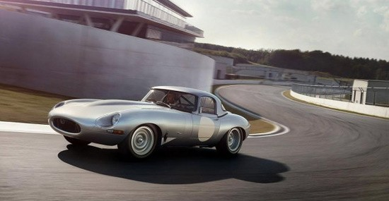 Iconic, All New, Jaguar E-Type