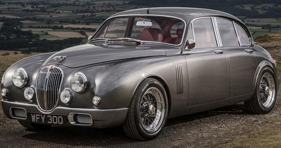 Jaguar mk2 by Ian Callum and CMC