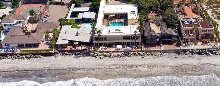 Jenny Craig's Beachfront Mansion in Del Mar on Sale