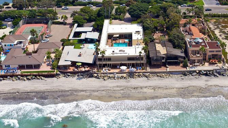 Jenny Craig Lists Beachfront Mansion in Del Mar
