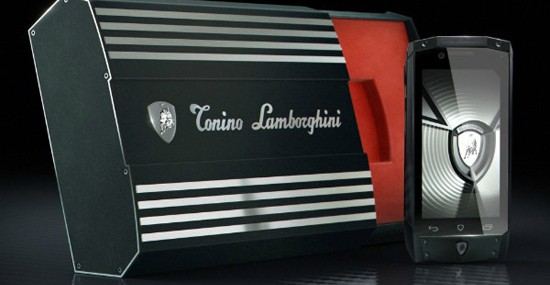 Limited Edition Antares Smartphone From Lamborghini