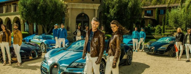 Bugatti unveils a capsule collection inspired by its six legends at Concours D'Elegance