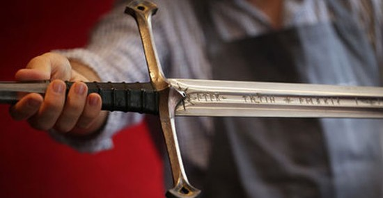 Weapons Featured in Lord of the Rings at Bonhams Auction
