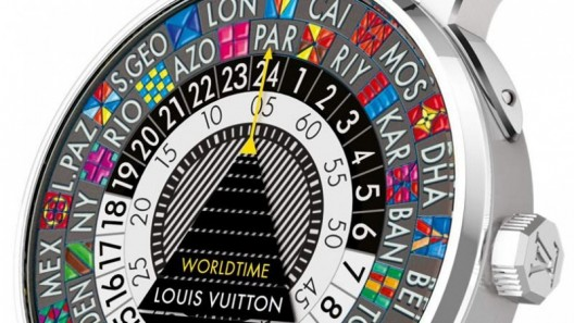 2014 Louis Vuitton Escale Worldtime Watch