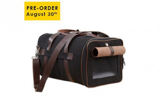 "Fashionable Pooch Bag ""Canvas Duffle Carrier"" From LoveThyBeast"