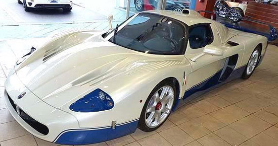 $1.85 Million Maserati MC12 On Sale