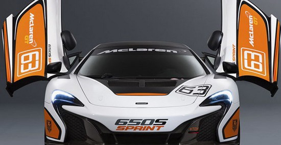 New Racing McLaren 650S Sprint
