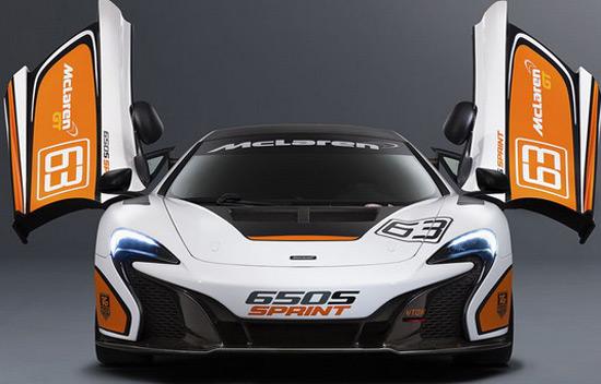 New Racing McLaren 650S Sprint