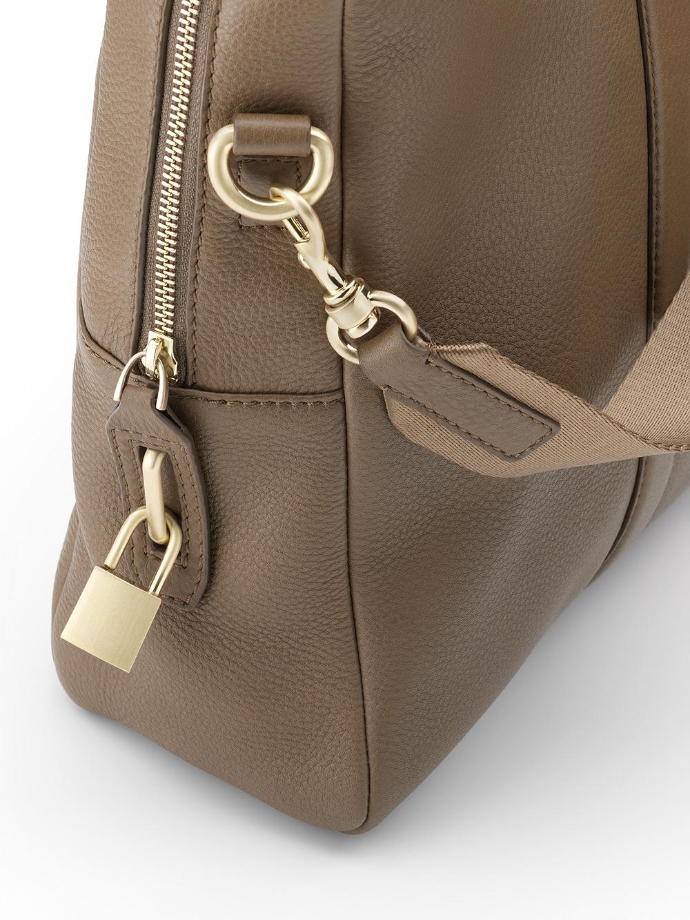 Elegant Women Tote Handbag Shoulder Crossbody Bag PU Leather Business Casual