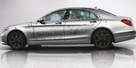 Armored Mercedes S-Class Guard