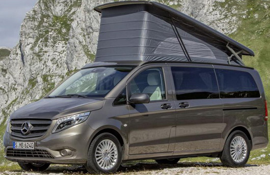 Mercedes has prepared the Vito Marco Polo Activity