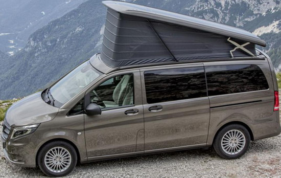 Mercedes has prepared the vito marco polo activity for Mercedes benz marco polo for sale