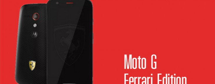 Motorola Moto G Ferrari Edition Smartphone