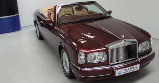 Rolls-Royce Corniche With The Number ONE On The Chassis Is On Sale