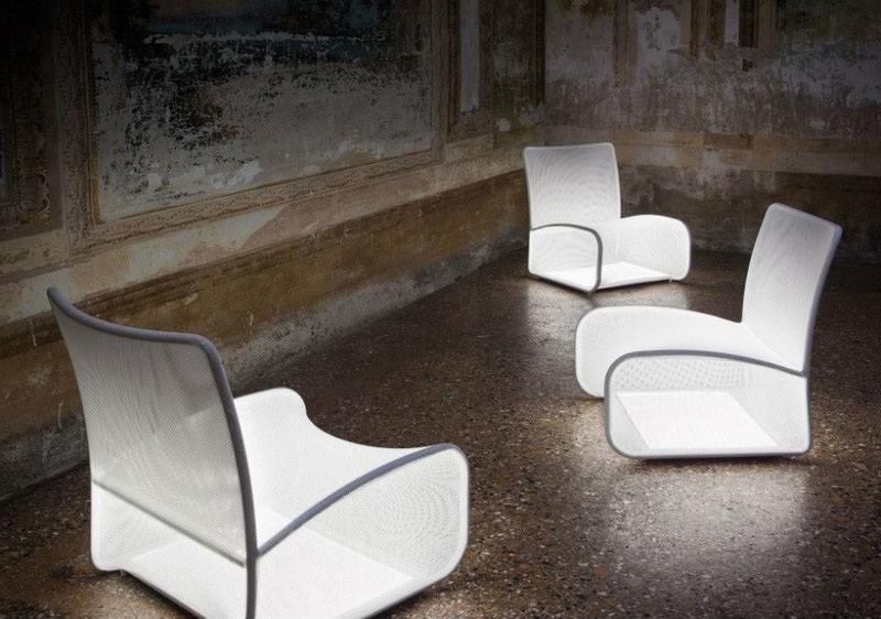 Nuvola Di Luce - Illuminating chair