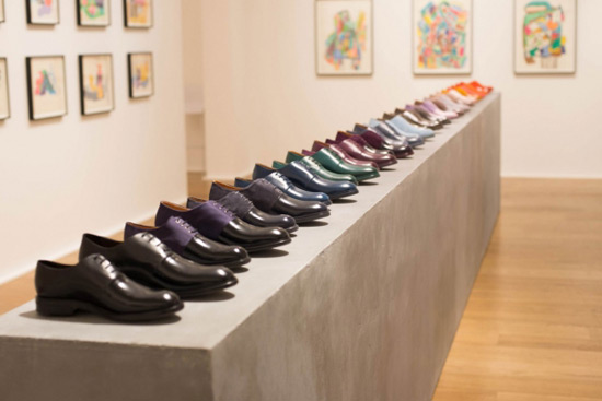 Paul Smith's First Ever Made-to-order Shoes Event