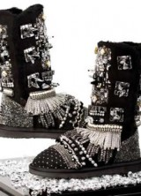 "Would You Pay $15,000 for UGG's ""Punk Couture"" Boots?"