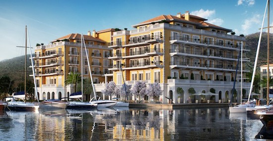 Prestige in Marina - Luxury Hotel Regent Porto Montenegro started to work!