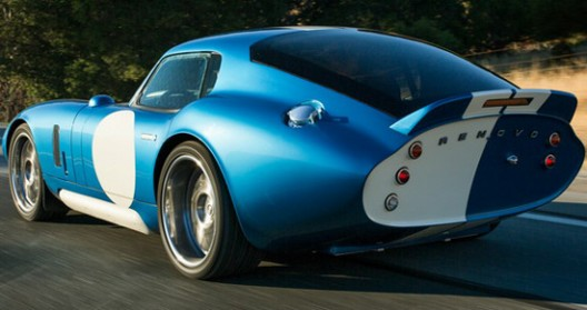 New Electric Renovo Coupe At Pebble Beach, California