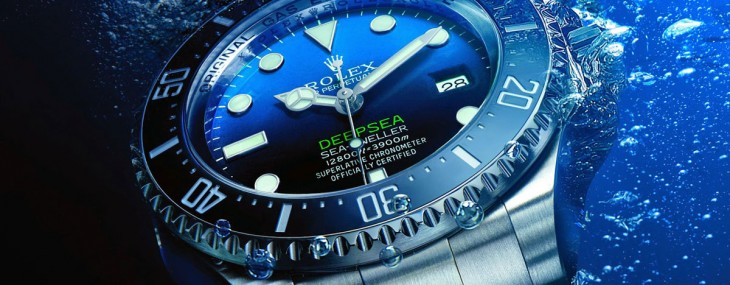Rolex Deepsea D-Blue Dial Diver Watch