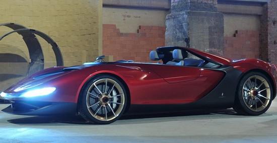 Ferrari Will Produce Pininfarina Sergio Roadster