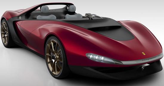 Lovely Ferrari Will Produce Pininfarina Sergio Roadster