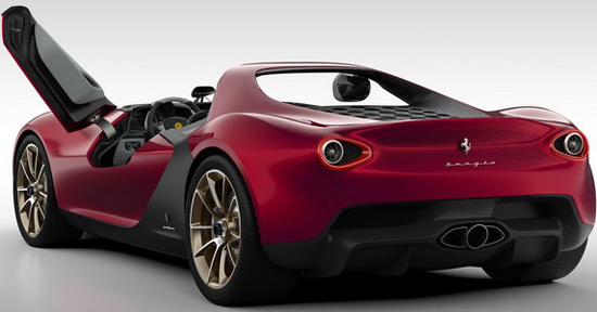 The Engine Is 4.5 Liter V8 From The Aforementioned Ferrari 458 Spider,  Paired With The Seven Speed Sequential Gearbox. According To Sergio  Pininfarina ...