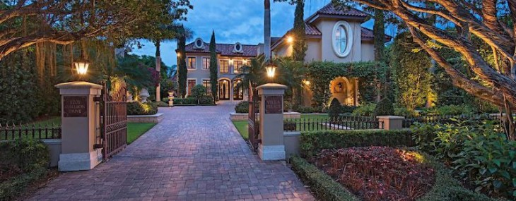 The Luxurious Villa Felice, Located in the Affluent Town of Naples, Florida