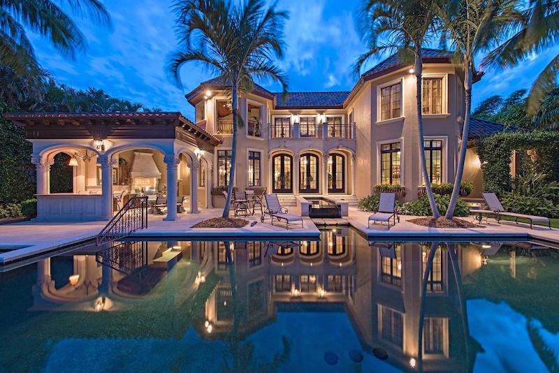 Villa Felice On Naples Bay On Sale For 11 450 000