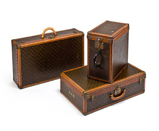 Vintage Luxury Luggage at Bonhams Goodwood Revival Sale - eXtravaganzi