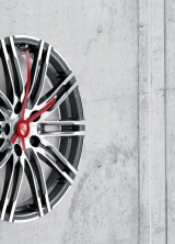 Porsche Design's Wall Clock Made from 20-inch 911 Turbo Rims
