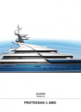 81m M/Y PROJECT SHARK (NB55) by PROTEKSAN TURQUOISE