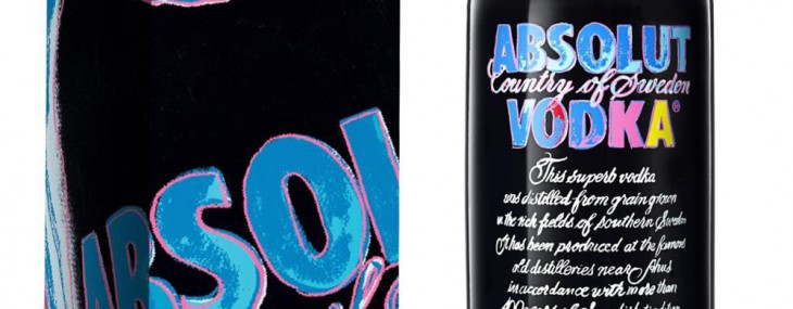 New Limited Edition Absolut Vodka Bottle Celebrates Andy Warhol
