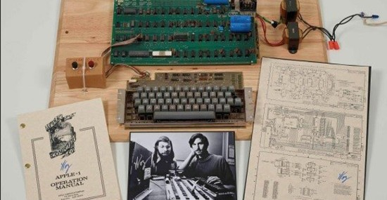 Apple I – Handmade by Steve Wozniak Could Fetch $500,000 at Bonhams