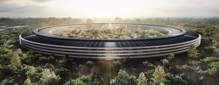 New Apple's Spaceship HQ will be the Greenest Building on the Planet