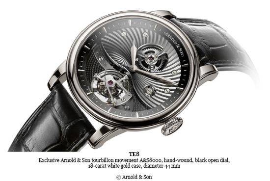 Arnold & Son TE8 Tourbillon for 2014