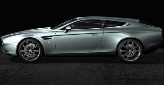 Aston Martin Virage Shooting Brake Zagato, whose premiere will be held at the event Chantilly Arts & Elegance
