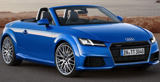 All New 2015 Audi TT Roadster