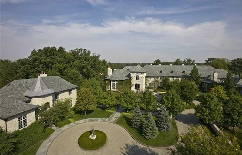 $25 Million Magnificent Baronial Estate in Carmel, Indiana