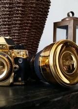 Nikon DF DSLR Camera Dressed In 24K Gold
